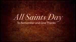 All Saints Day in Powdersville SC